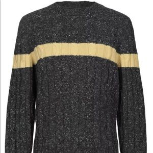BRUNELLO CUCINELLI CASHMERE Grey Sweater Size 50/L